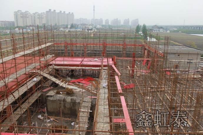 鑫虹泰建筑模板使用工地