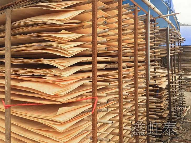 建筑覆膜板材料