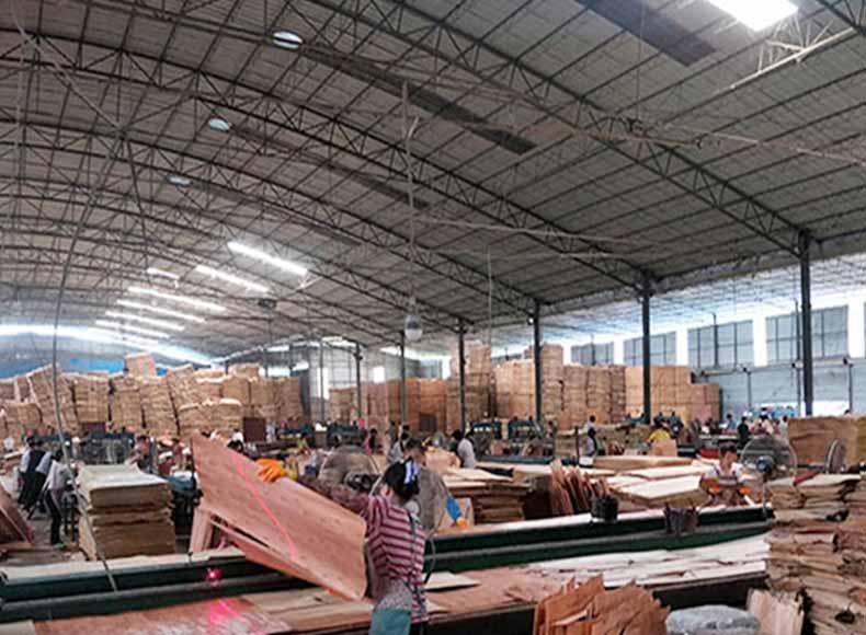 工程常用常用的胶合板生产现场