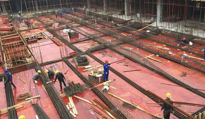 广西建工集团第三建筑工程使用鑫虹泰模板