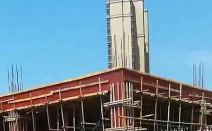 建筑模板的拆除与安装