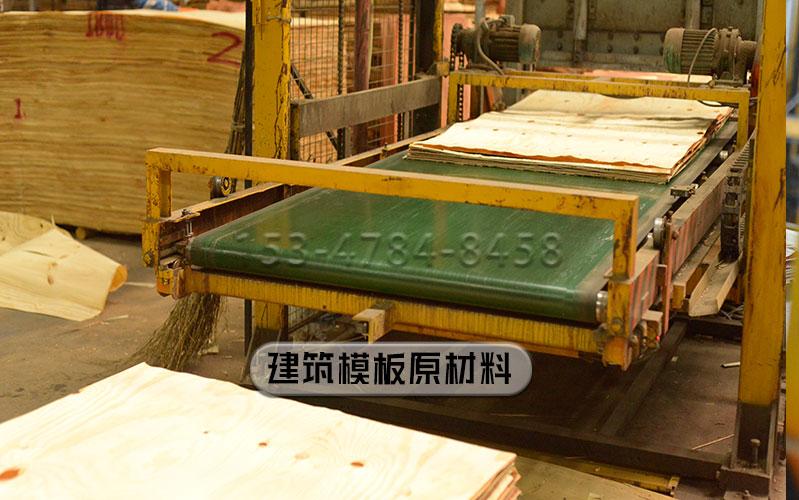 建筑模板原材料