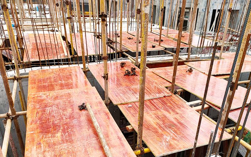 建筑红模板-大红板